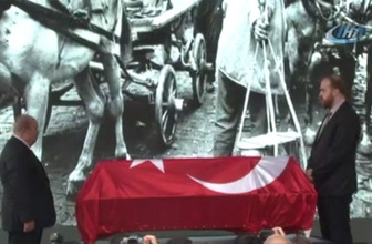Ustaya son veda Türkiye Ara Güler'i uğurluyor