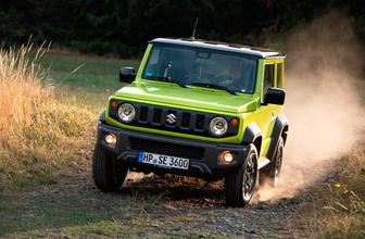 Suzuki'nin SUV modeli Jimny yenilendi Kasım'da Türkiye'de olacak