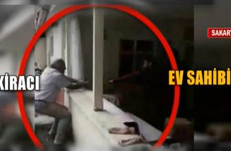 Kiracı ve ev sahibinin baltalı kavgası! Kendi evini parçaladı