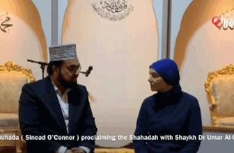 Sinead O'Connor Müslüman oldu böyle  Kelime-i Şehadet getirdi