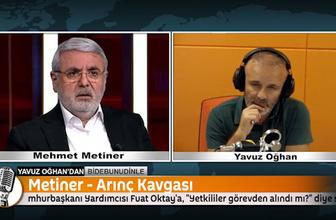 Mehmet Metiner'den Mücahit Arınç'a: Yalan söylemek babasından miras olabilir
