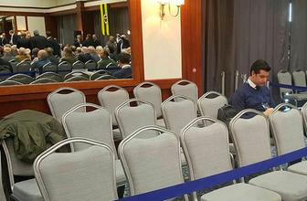 Fenerbahçe'de, basın mensuplarından çalışma alanına tepki