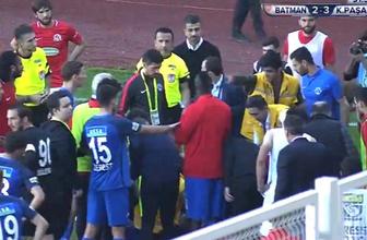 Batman Petrolspor-Kasımpaşa maçı tatil edildi