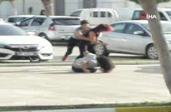 Antalya'da dehşete düşüren kız kavgası polisler bile şikayetçi oldu