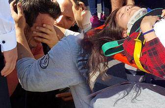 Zonguldak'ta kazaya neden olan sürücü ağladı