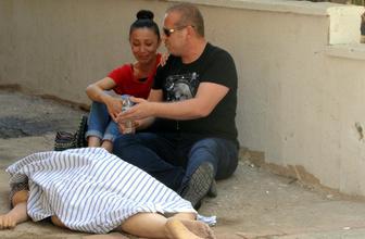 Feci ölüm: Kızı bir an olsun yanından ayrılmadı!