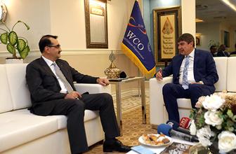 Bakan Dönmez Büyükşehir Belediyesi'ni ziyaret etti