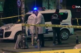 Bahçelievler'de silahlı kavga 1'i polis 3 yaralı