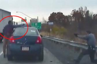 Alkollü sürücü iki polisi vurup kaçtı