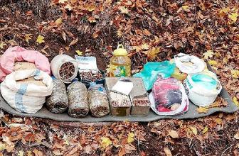 Osmaniye'de PKK'ya ait 65 kilo TNT ele geçirildi