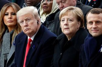 Trump küplere binecek! Bir destek de Merkel'den