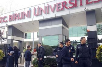 Biruni Üniversitesi'ndeki patlamanın ardından ilk açıklama geldi
