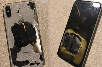 iPhone X iOS 12.1 güncellemesinden sonra patladı iddiası