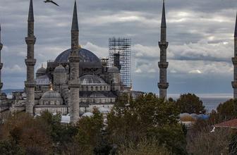 Sultan Ahmet'te inanılmaz görüntü Artık 5 minare