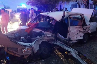 Eskişehir'de trafik kazası: 2 ölü 5 yaralı