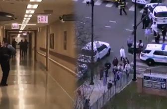 ABD'de hastanede silahlı saldırı en az dört yaralı var