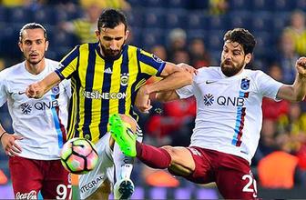 Trabzonspor-Fenerbahçe maçı öncesi flaş karar!