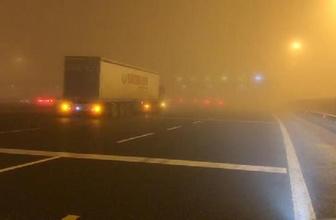 İstanbul'da ulaşıma yoğun sis engeli