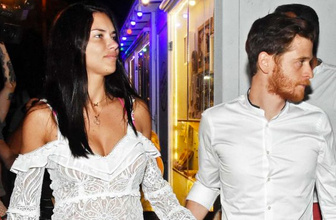 Adriana Lima'dan Metin Hara'ya: Seninle gurur duyuyorum aşkım