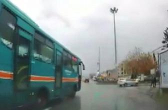 Eskişehir'de pes dedirten trafik ihlalleri kameraya yansıdı