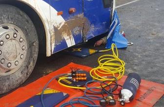 Denizli'de feci kaza! Otobüsün altında kalarak hayatını kaybetti