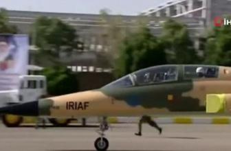 İran'dan milli savaş uçağı