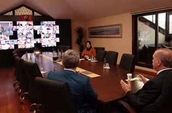 Başkan Erdoğan ilçe başkanları ile görüştü