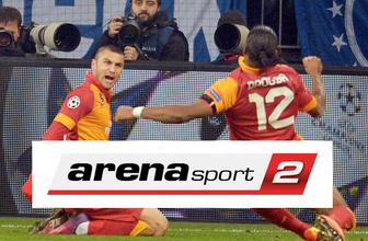 Arena Sport 2 canlı Galatasaray maçı şifresiz yayını A2 frekansları
