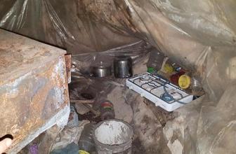 Amanoslarda PKK'ya ait sığınak bulundu