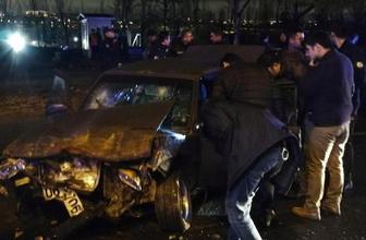 Ankara'da hareketli anlar! Arabadan çıkanlar şoke etti