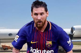 Messi servet değerinde uçak satın aldı