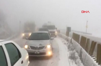 Kütahya kar başladı 5 günlük son haritalı hava durumu