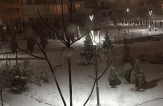 Son dakika... Ankara'da yoğun kar yağışı!