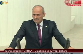 Bakan Turhan'dan tren kazası açıklaması