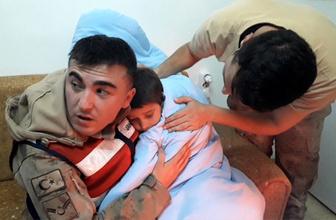Şanlıurfa'da kayıp çocuk donmak üzereyken bulundu