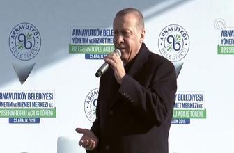 Cumhurbaşkanı Erdoğan'dan İsrail Başbakanına çok sert tepki