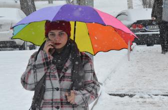Afyon hava durumu kar başladı 5 günlük yeni rapor