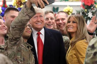 Trump çiftinden Irak'a sürpriz ziyaret!