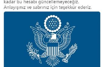 ABD'de Türkiye elçilik hesabından atılan 'para yok' twiti dillerde