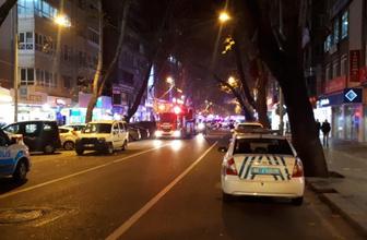 Ankara'da doğalgaz patlaması: Yaralılar var!