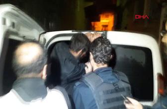 Bursa'da alkollü olan kişi, pompalıyla ateş açtı