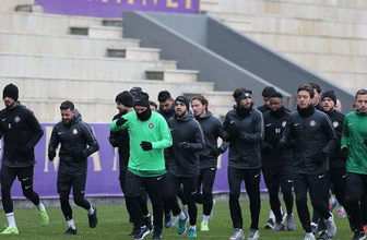 Osmanlıspor şampiyonluk hedefiyle 2. yarı hazırlıklarına başladı