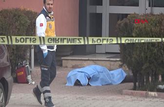 Reklamcı, eşine not bırakıp, 11'inci kattan ölüme atladı