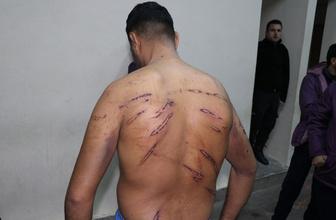 Yunan barbarlığı sürüyor soyup sınırdan atıyorlar