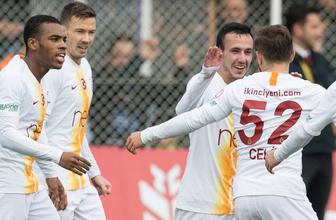 Galatasaray Keçiörengücü'nü rahat geçti spiker maça damga vurdu