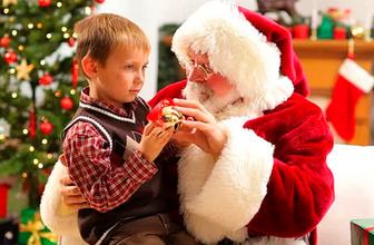 Noel baba yoktur dedi işinden oldu