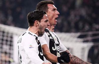 Dev maçta Juventus güldü