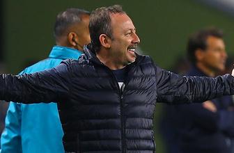Sergen Yalçın'dan 90+3'te kaçan gol sonrası olay yorum