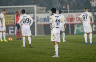 Fenerbahçe küme düşme hattına geriledi!