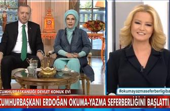 Türk Televizyon tarihinde bir ilk! Cumhurbaşkanı Erdoğan Müge Anlı'da seferberlik başlattı